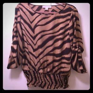 Tiger striped blouse